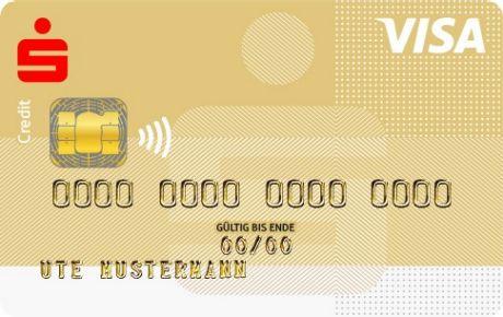 Visacard Gold Kreditkarte Sparkasse Bodensee