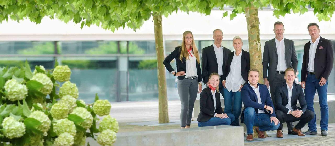 Bild vom Team Kundencenter der Sparkasse Bodensee