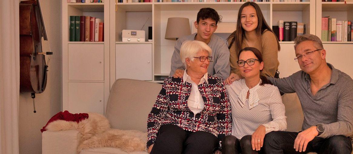 Familie Wegner - die digitale Familie der Sparkasse Bodensee